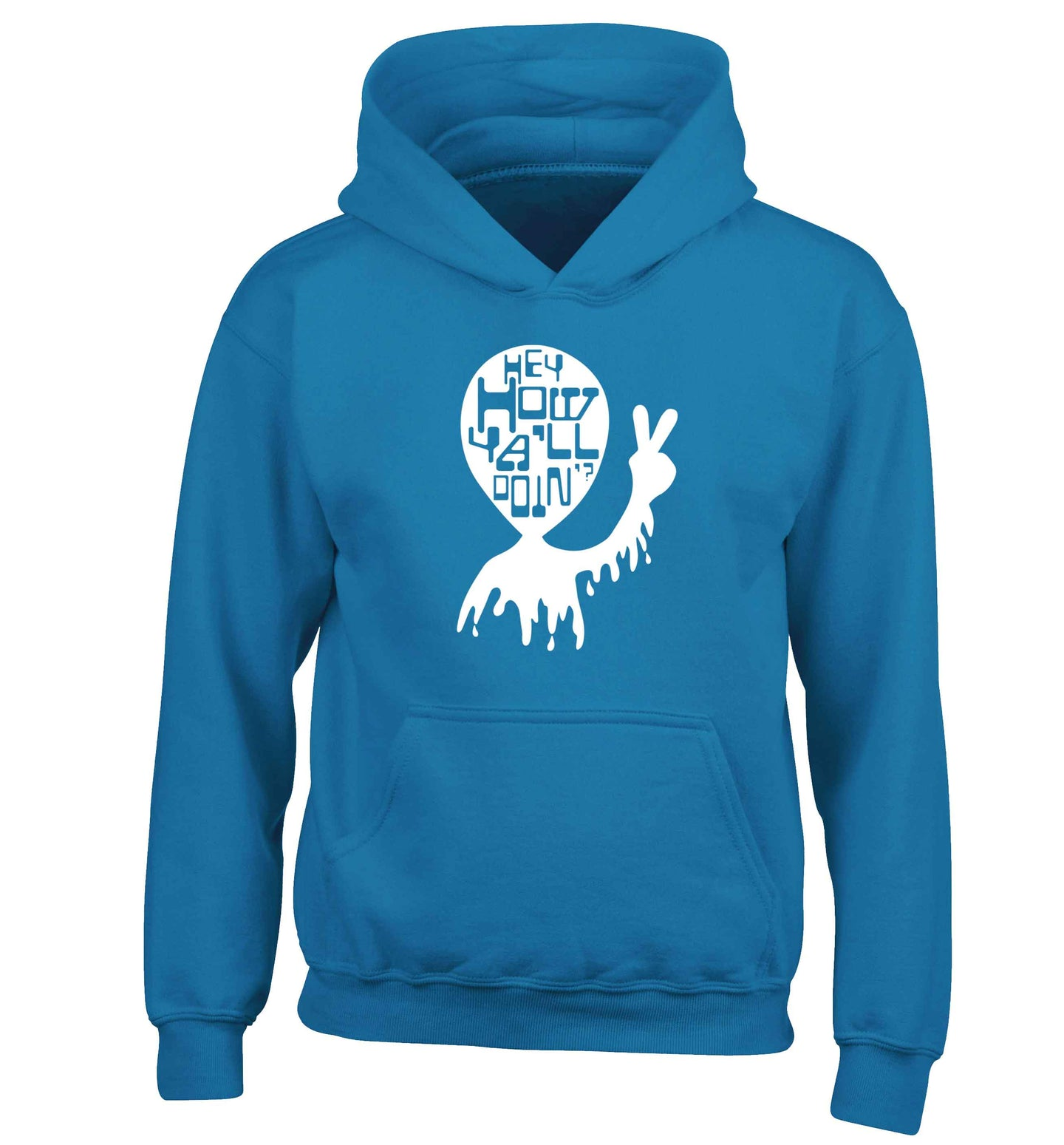 Misheard song lyrics - check!  children's blue hoodie 12-13 Years