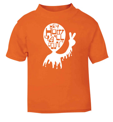 Misheard song lyrics - check!  orange baby toddler Tshirt 2 Years