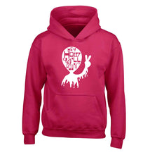 Misheard song lyrics - check!  children's pink hoodie 12-13 Years