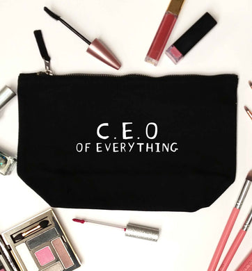 We love this for YOU! Who else loves saying this?!  black makeup bag
