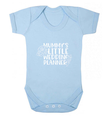 adorable wedding themed gifts for your mini wedding planner! baby vest pale blue 18-24 months