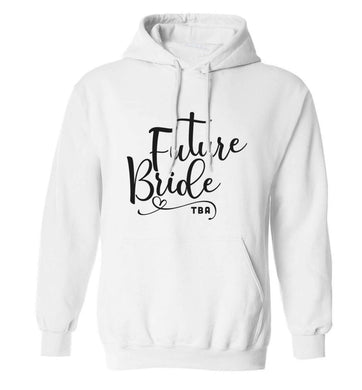 Has your wedding been postponed or delayed?Just another reason to party even HARDER!  adults unisex white hoodie 2XL