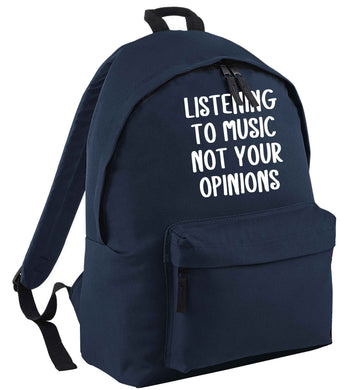 Listening to music not your opinions | Children's backpack