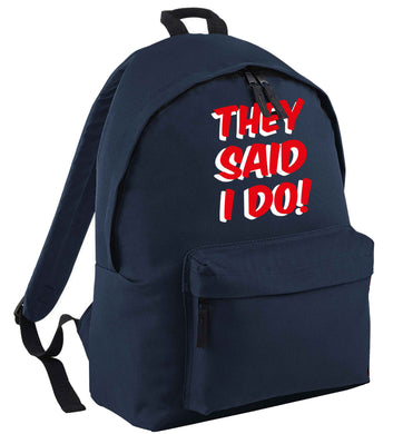 They said I do | Children's backpack