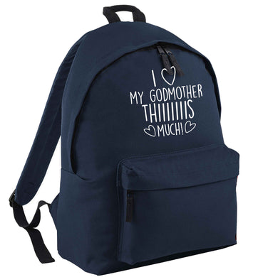 I love my Godmother this much | Children's backpack