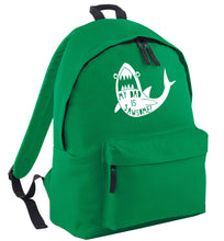 My Dad is jawsome green adults backpack