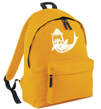 My Dad is jawsome mustard adults backpack