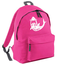 My Dad is jawsome pink adults backpack