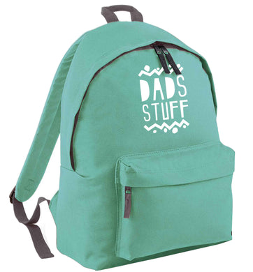 Dads stuff mint adults backpack