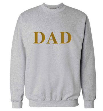 Dad adult's unisex grey sweater 2XL