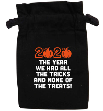 2020 The year we had all of the tricks and none of the treats | XS - L | Pouch / Drawstring bag / Sack | Organic Cotton | Bulk discounts available!