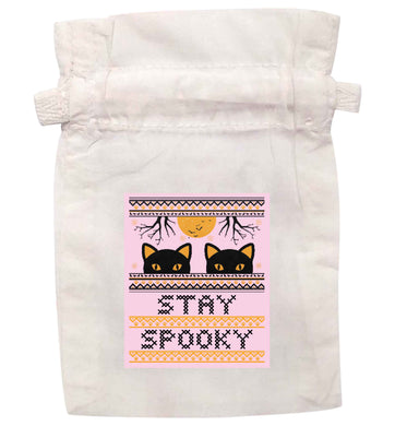 Stay spooky | XS - L | Pouch / Drawstring bag / Sack | Organic Cotton | Bulk discounts available!