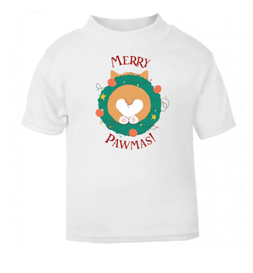 Merry Pawmas baby toddler Tshirt 2 Years
