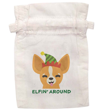Elfin' around | XS - L | Pouch / Drawstring bag / Sack | Organic Cotton | Bulk discounts available!