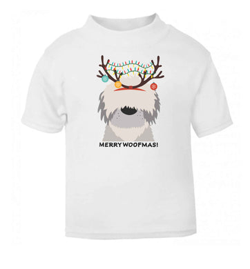 Merry Woofmas! baby toddler Tshirt 2 Years