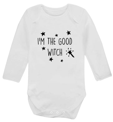 Good witch baby vest long sleeved white 6-12 months