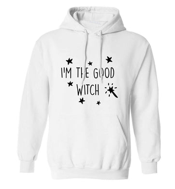 Good witch adults unisex white hoodie 2XL