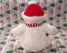 Personalised snowman teddy | Christmas gifts | Flox Creative