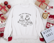 first christmas as mr and mrs personalised christmas jumper or hoodie