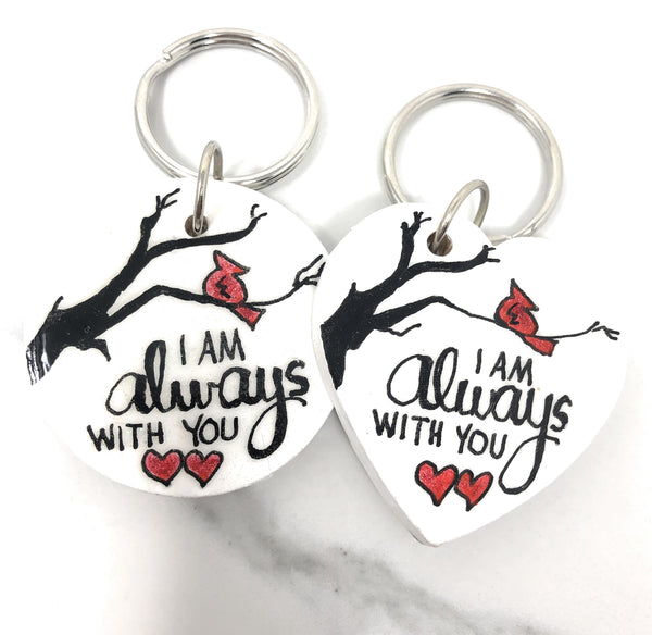 'I Am Always With You' Keychain