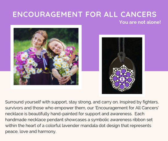 ENCOURAGEMENT FOR ALL CANCER Necklace
