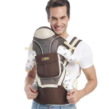 Perfect Multifunctional Baby Carrier ,Hip Seat & Kangaroo, Soft Baby Front & Back Position Carrier/Baby Facing in & Facing Out – For Infant & Toddler