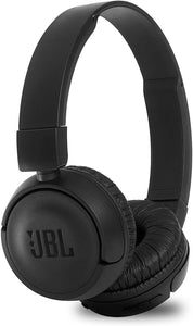 JBL Extra Bass Wireless On-Ear Headphones T460BT with 11 Hours Playtime & Mic - Black