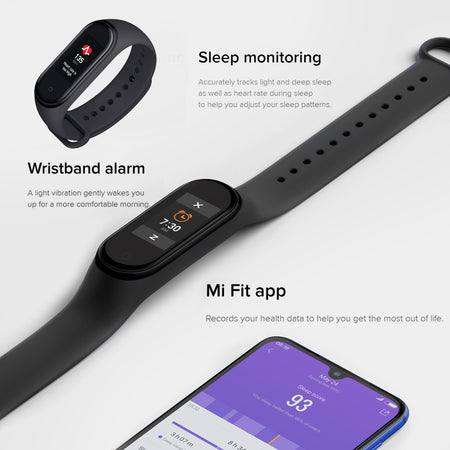 Xiaomi™ Mi Wristband 4 bluetooth 5.0 Fitness Tracker - Smart Watch - Volterin