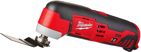 Milwaukee 2426-20 M12 12 Volt Redlithium Ion Variable Speed Cordless Multi Tool with Multi-Use Blade, Sanding Pad, & Multi-Grit Sanding Papers - Volterin