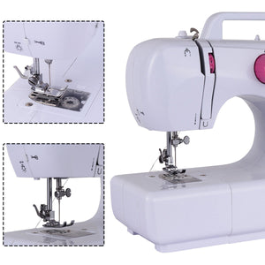 New Free-Arm Crafting Sewing Machine with 16 Built-in Stitches Automatic Thread Rewind Two Speed Sewing EP22774 - Volterin