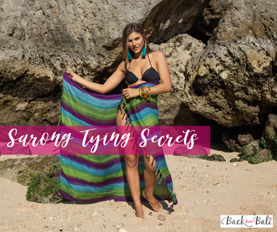 Sarong Tying Secrets with a How-To Video