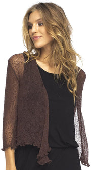 Best Selling Classic Sheer Shrug Cardigan Lightweight Knit One Size