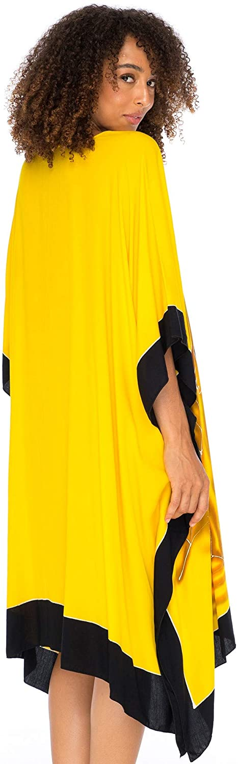Loose, Knee Length Beach Dress (Women Empowerment)