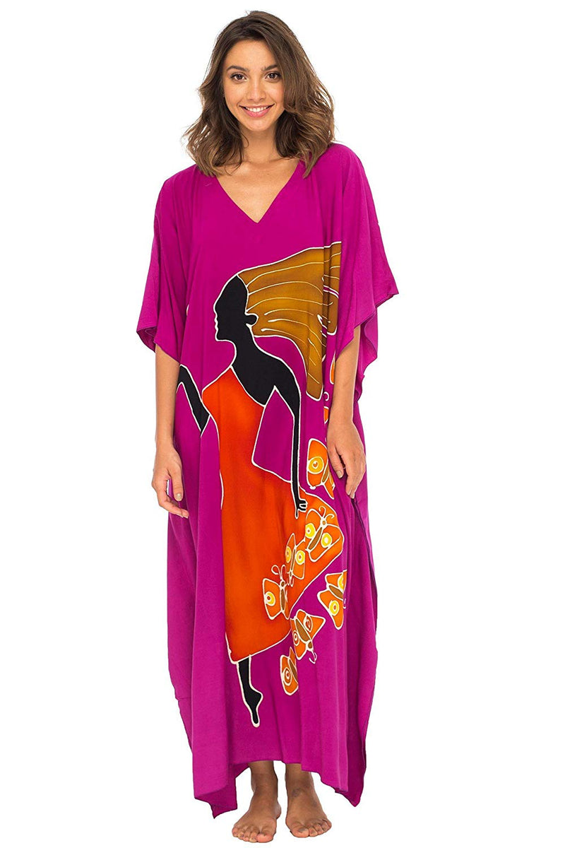 Long Maxi Women Goddess Caftan Beach Cover up