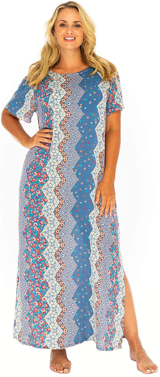 Long Maxi  Loose Dress Kaftan Regular to Plus Sizes