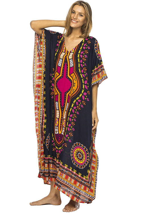 Long Maxi Swimsuit Beach Cover Up African Caftan Patterns