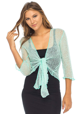 Sheer Cardigan Lightweight Shrug