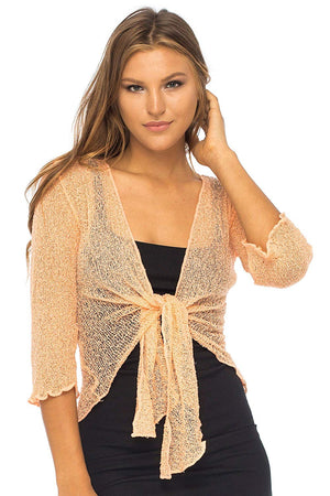 Lightweight Sheer Shrug Cardigan Arm Cover
