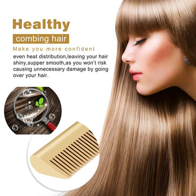 Heating Hair Straightener Comb