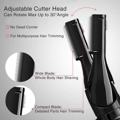 Multifunctional Electric Eyebrow/Hair Trimmer