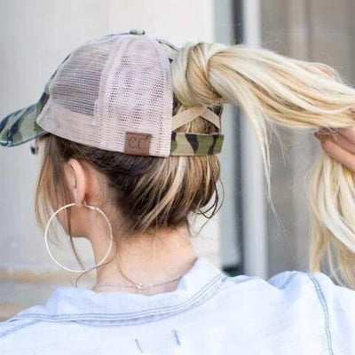 3 Levels Messy Bun Cap