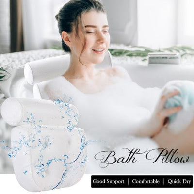 3D Spa Bathtub Pillow
