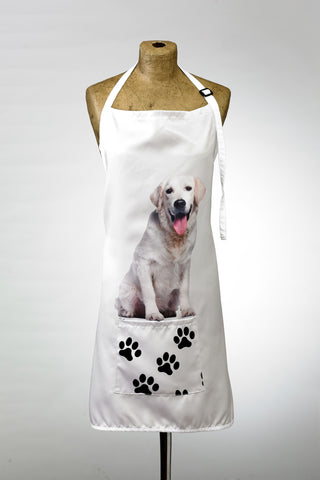 Adorable Golden Retriever Design Apron