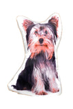 Adorable Yorkshire Terrier Shaped Cushion Dog Cushions - Adorable Cushions