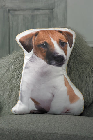 Adorable Jack Russell Shaped Cushion Dog Cushions - Adorable Cushions