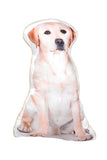 Adorable Yellow Labrador Shaped Cushion Dog Cushions - Adorable Cushions