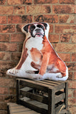 Adorable Boxer Shaped Cushion Dog Cushions - Adorable Cushions