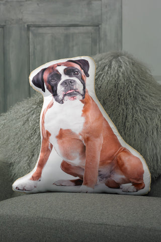 Adorable Boxer Shaped Cushion