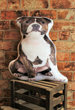 Adorable Staffordshire Bull Terrier Shaped Cushion Dog Cushions - Adorable Cushions