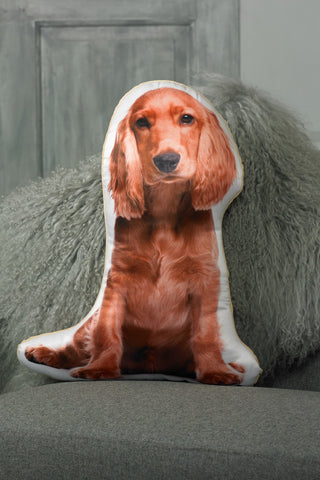 Adorable Golden Cocker Spaniel Shaped Cushion Dog Cushions - Adorable Cushions